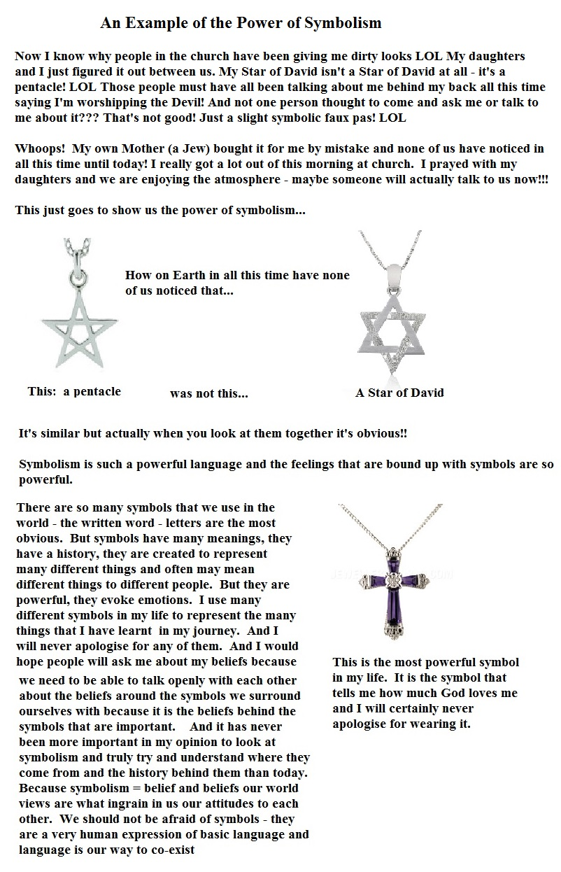 symbolism and me